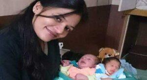 Dr Komal Yadav adopt 2 girls