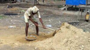 Bihar Construction Worker