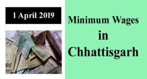 Minimum Wages in Chhattisgarh
